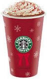 Starbucks Venti Peppermint White Chocolate Mocha