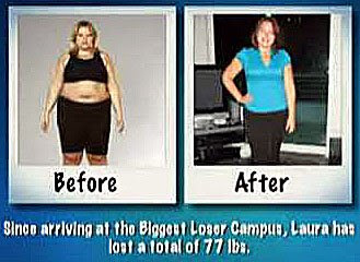 Laura Denoux before and after pics