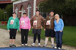 The Biggest Loser Final Four before running a marathon