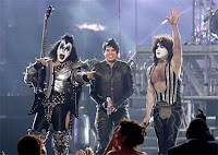 Adam Lambert with KISS