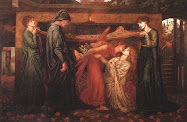 El sueño de Dante a la muerte de su amada