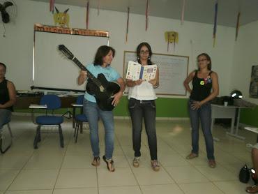 Professoras Bernadete, Rosinalda e Rita da Escola Aldemir Lima Cantanhede