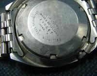 SEIKO 6119 - 7183 no seri seb. dalam