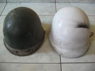 helm baja / helm tentara
