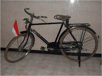 Sepeda kebo merk RAY