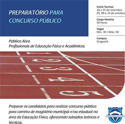 Curso preparatorio para concurso publico
