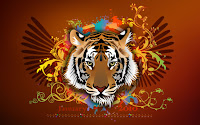 Chinese Tiger New Year Wallpapers