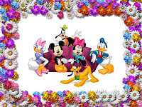 Disney Cartoons New Year Celebrations