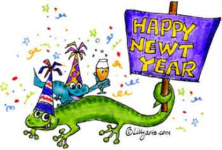 Happy New Year Cartoons