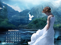 September 2009 Calendar Wallpaper