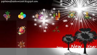 New Year PSP Wallpapers