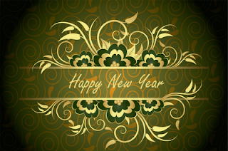Happy Green New Year Wallpaper