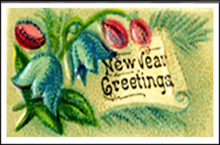Vintage New Year Greetings