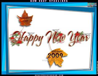 Happy New Year Desktop Themes