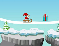 new year snow game by santa wallpaper