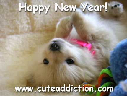cute puppies wallpapers. Cute New Year Wallpaper, Cute