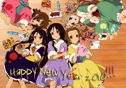 New Year Wallpaper - 2012: Anime New Year Wallpaper, Anime Cartoons ...