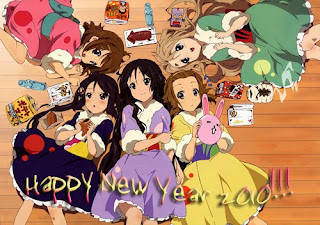 Anime New Year Wallpaper