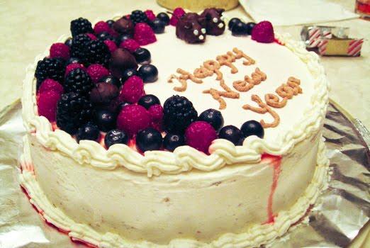 Торт на новый год 2014 с фото