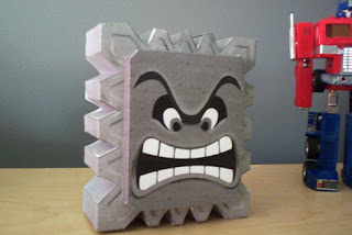 papercraft world mario papercraft thwomp paper models free