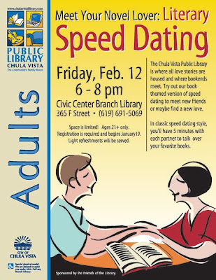 edmonton public library speed dating If your new year's resolution is to make new friends or be more social in 2017, then the library can help you jump start your goal join us for coffee, fun, and platonic speed dating in.