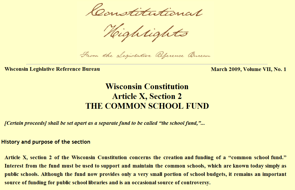Retiring guy 39 s digest the skinny on the library - Wisconsin legislative reference bureau ...