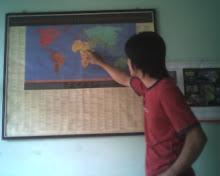 Menunjukan Peta
