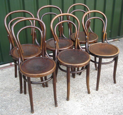 8footsix Bentwood Chairs