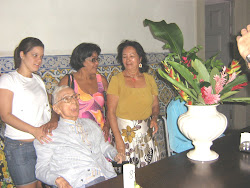 Frei Eduardo com seus familiares