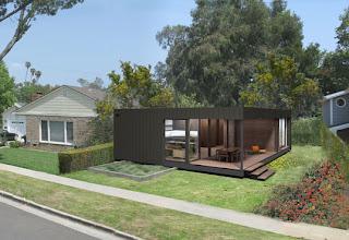 Arquitectura arquidea casas prefabricadas por marmol for Costruire un garage su un terreno in pendenza