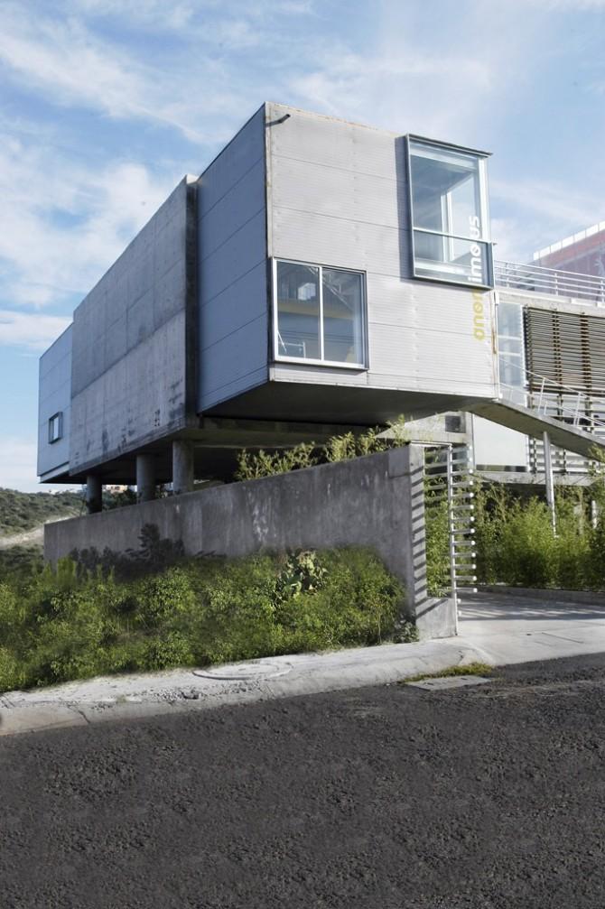 edificio de oficinas zagreb en quer taro m xico On diseño de jardines para oficinas