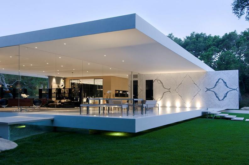 Arquitectura arquidea la casa de cristal steve hermann for Casas modulares minimalistas