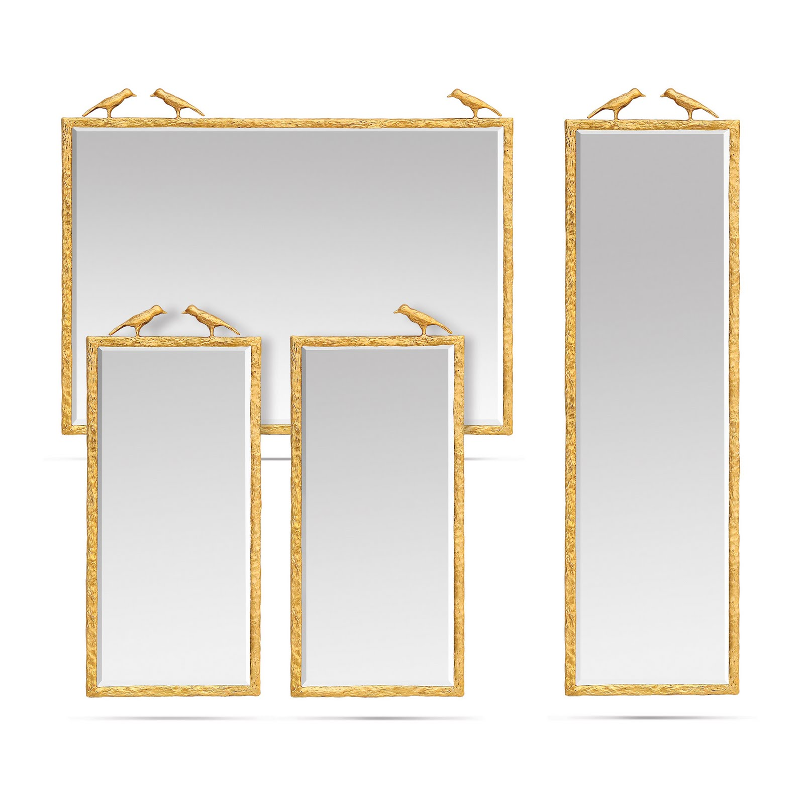 Beadboard upcountry mirror mirror made good for you for Different sized mirrors