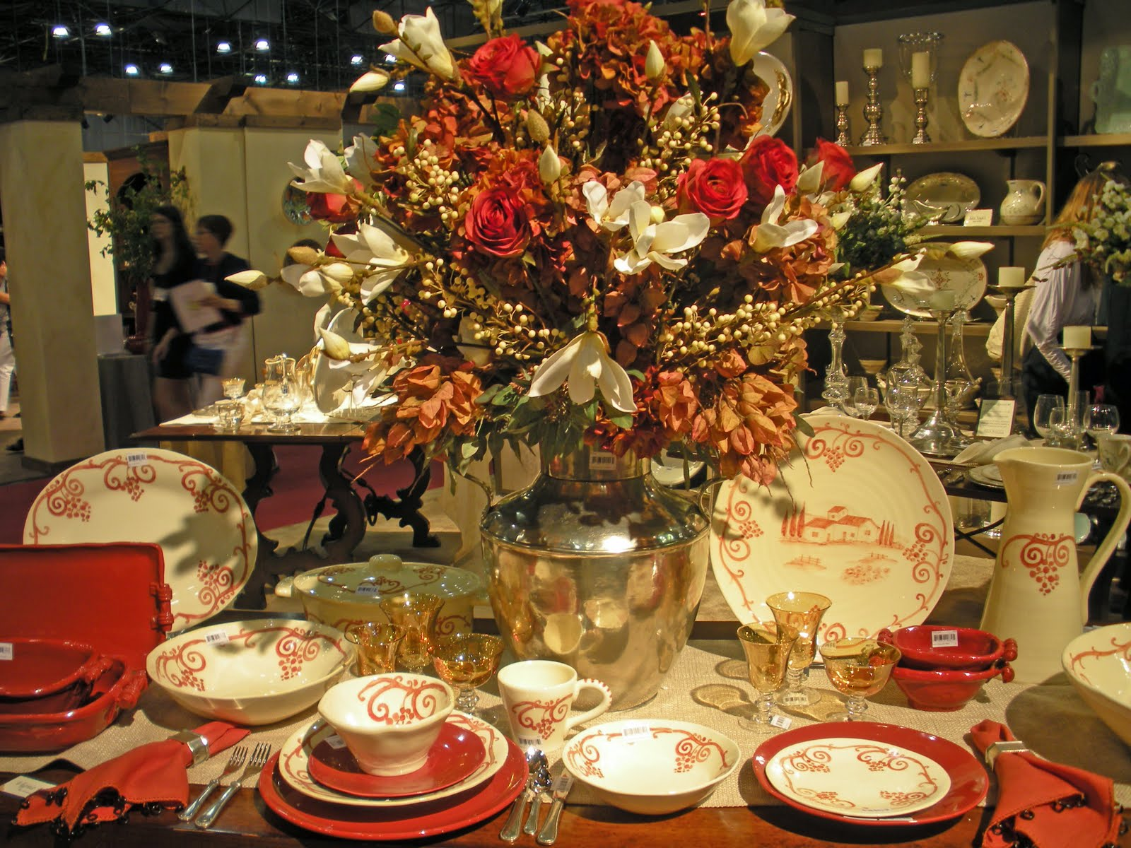 Autumn Table Settings in NYC & Beadboard UpCountry: Autumn Table Settings in NYC