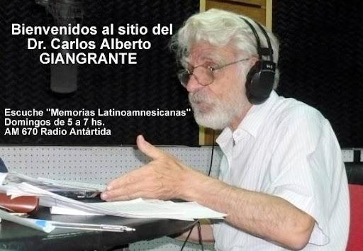Sitio del Dr. Carlos Alberto Giangrante