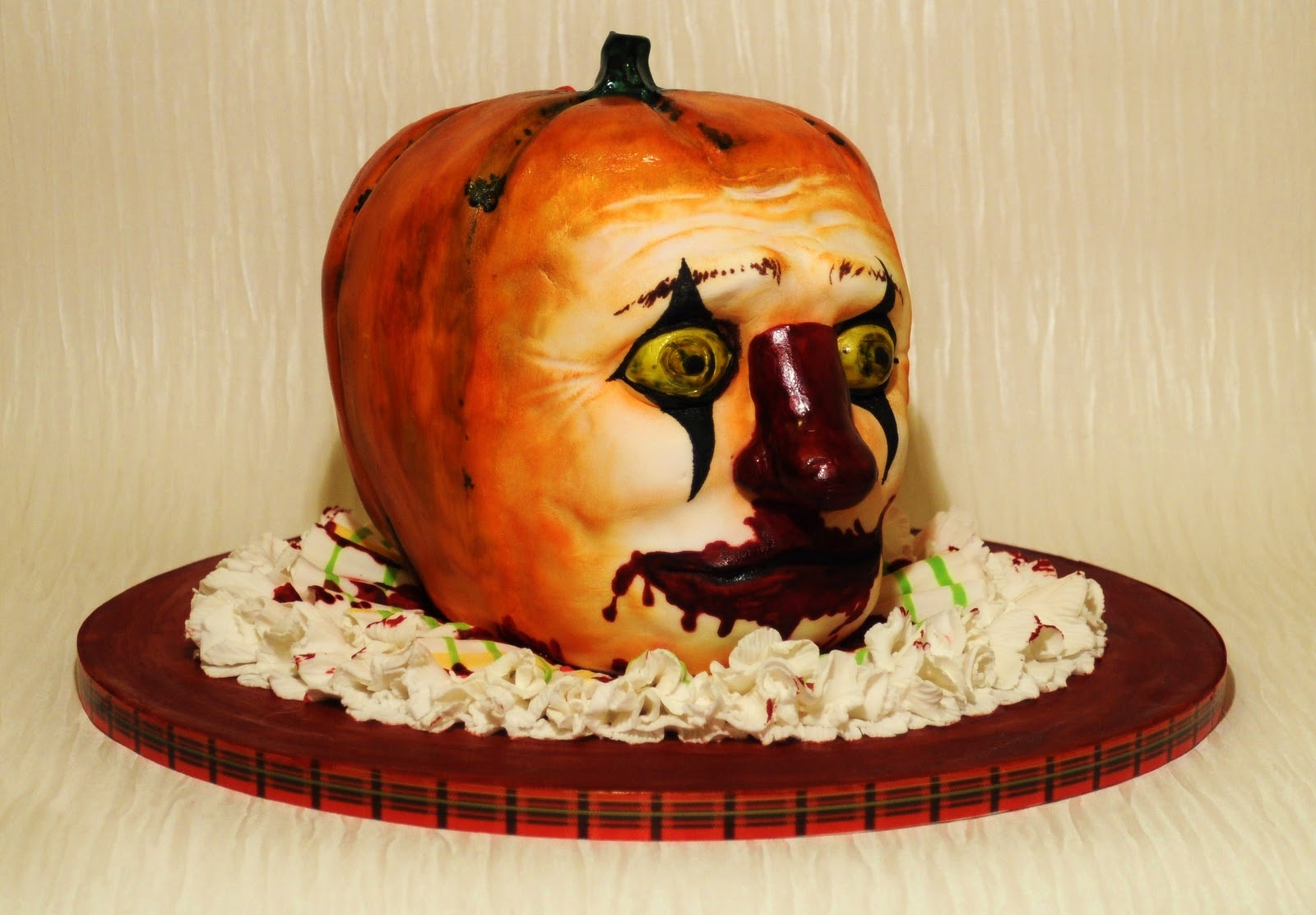 Scary Clown Cake Ideas