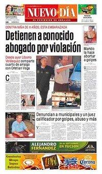 El Imparcial y El Diario de Sonora... protegen a violador