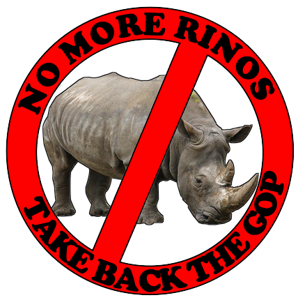 piss on the rinos