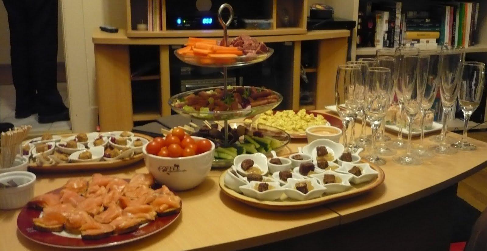 Celle qui cuisinait ou le plaisir de cuisiner mini buffet Que faire pour un aperitif dinatoire
