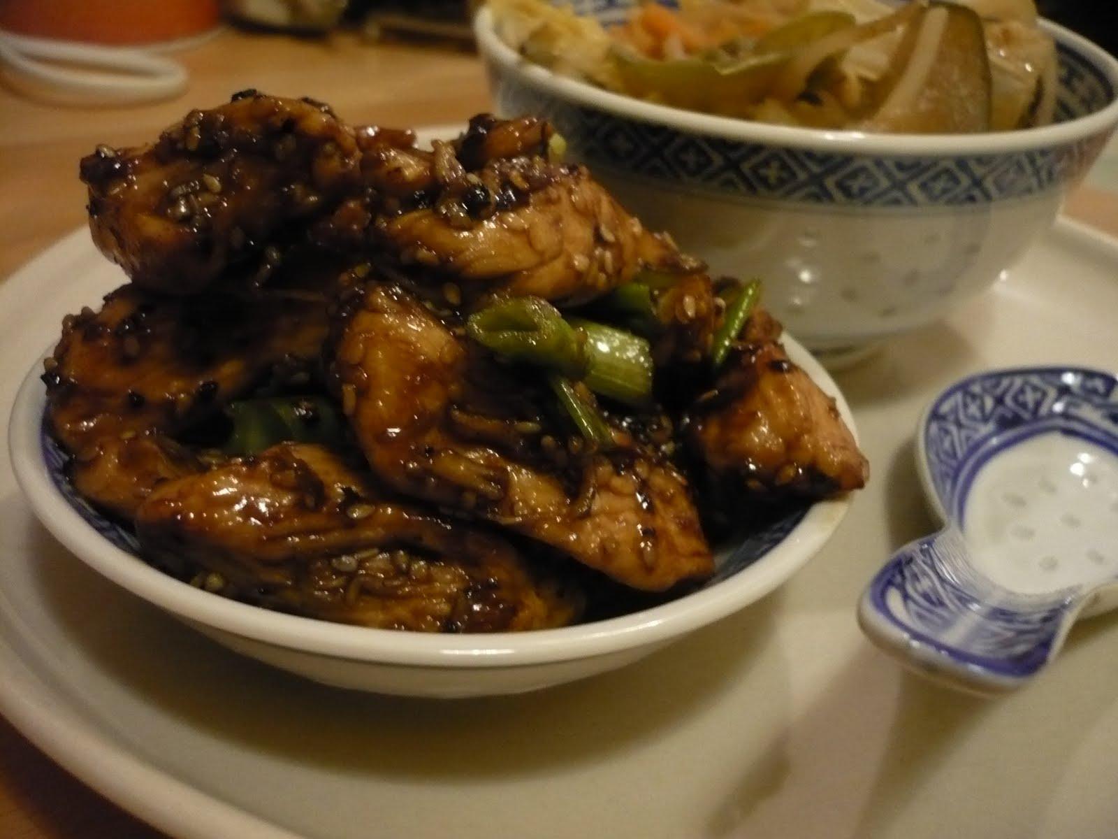 Celle qui cuisinait ou le plaisir de cuisiner soupe de riz poulet caram lis pas tr s hano - Cuisiner la veille pour le lendemain ...