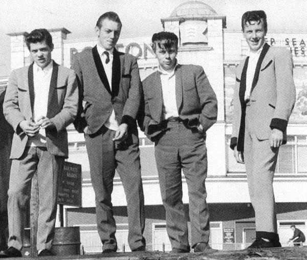 Retro5top Teddy Boys
