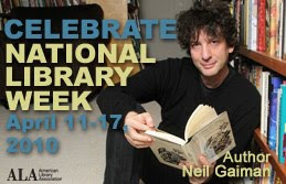National Library Week Button