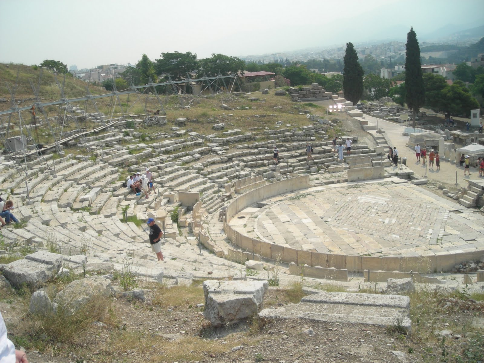 Architecture Slide Test Research: Theatre of Dionysus