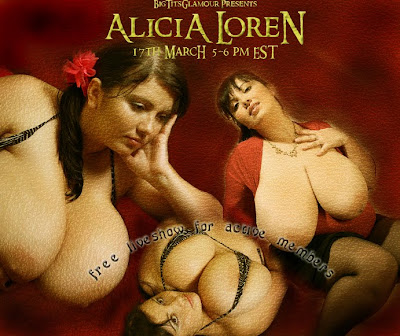 ... a FREE LIVE WEBCAM CHAT with Alicia Loren on WEDNESDAY - 17 MARCH 2010 ...