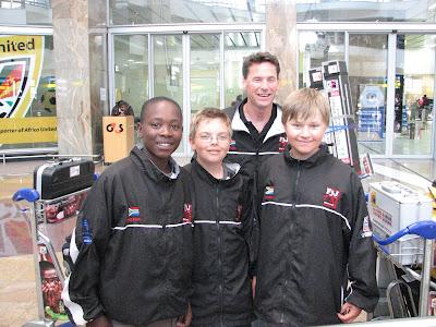 Juniors (Front l-r): Tsepho, Ryan & Jason; Back: The Crig