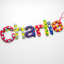 Dots & Buttons Name Banner