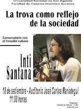 CONVERSATORIO CON INTI SANTANA, TROVADOR CUBANO