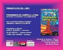 """PRESENTACIÓN DEL LIBRO: """"FEMINISMOS EN AMÉRICA LATINA"""""""