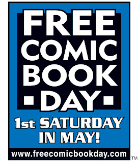 Free Comic Book Day Saturday May 1st