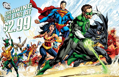 DC Comics Lowers Prices of Regular Issues to $2.99 Starting This Month